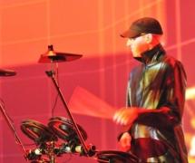 Event mit E-Drumset.